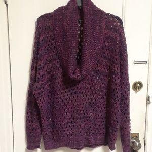 Rafaella Cowl Neck Sweater